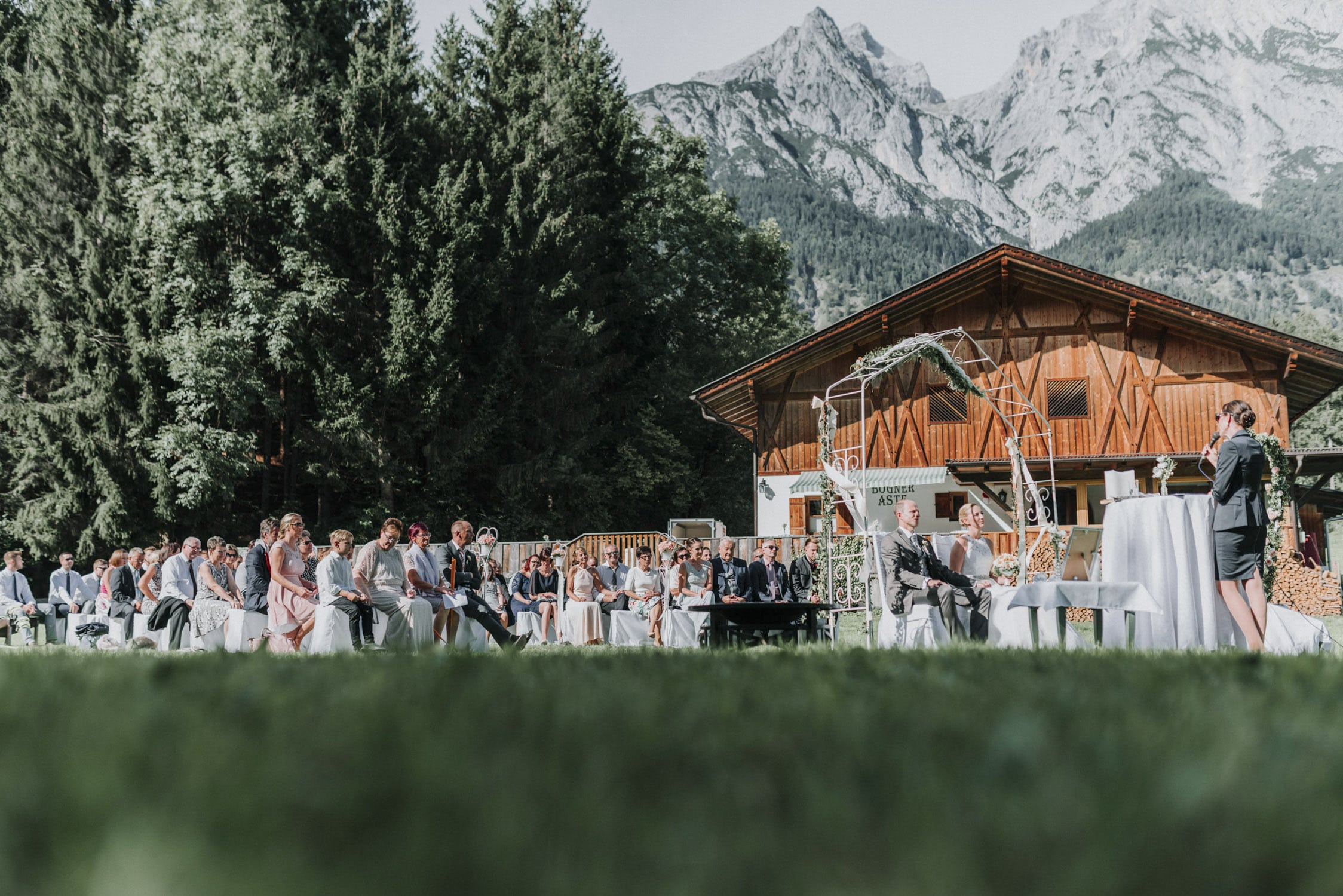 Hochzeit in der Natur
