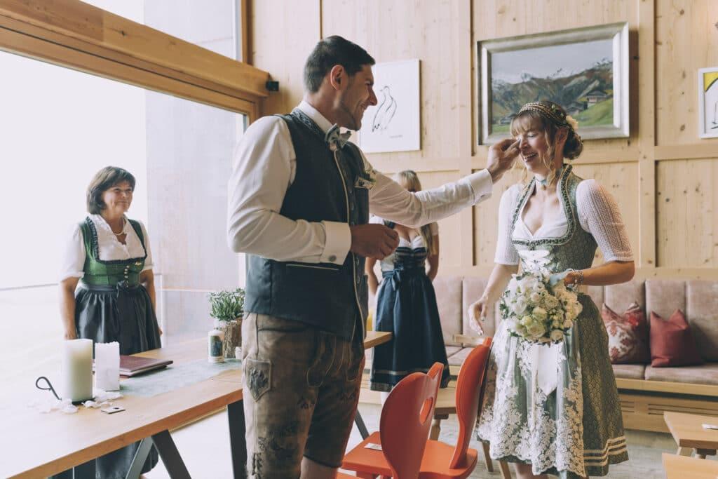 Hochzeit auf der Granatalm im Zillertal